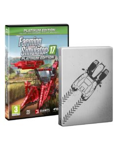 Farming Simulator 17: Platinum Edition Steelbook