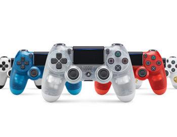 Przezroczyste kontrolery DualShock 4