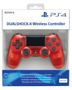 DualShock 4 Red Crystal