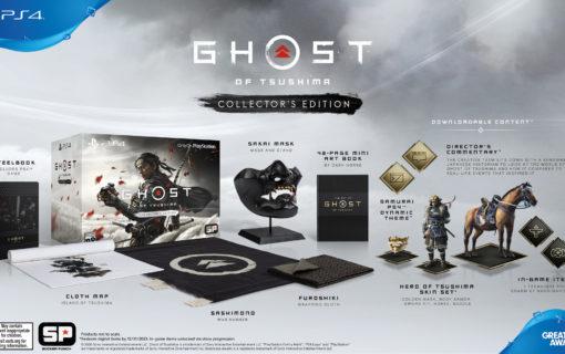 Zaprezentowano specjalne wydania Ghost of Tsushima