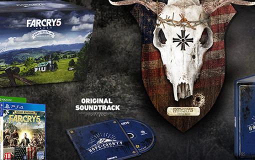 Ujawniono edycje kolekcjonerskie Far Cry 5