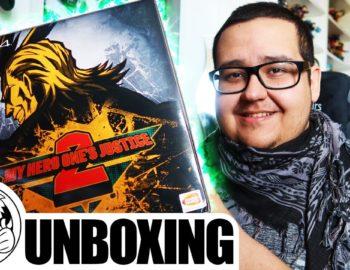 Unboxing kolekcjonerki My Hero One's Justice 2