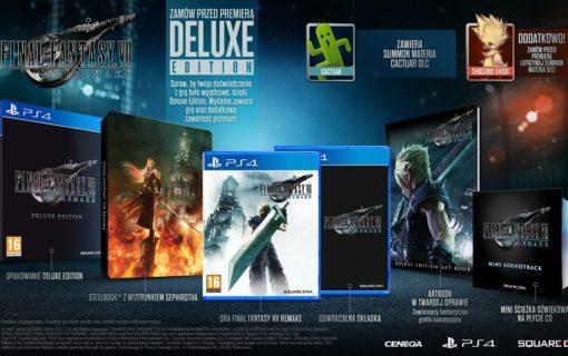 Specjalne wydanie Final Fantasy VII Remake Deluxe Edition dostępne w Media Markt