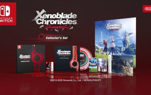 Kolekcjonerskie wydanie Xenoblade Chronicles: Definitive Edition