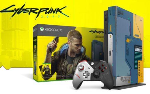 Ruszyła sprzedaż limitowanej konsoli Xbox One X Cyberpunk 2077
