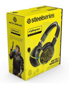 Słuchawki SteelSeries Arctis 1 Cyberpunk 2077 Edition