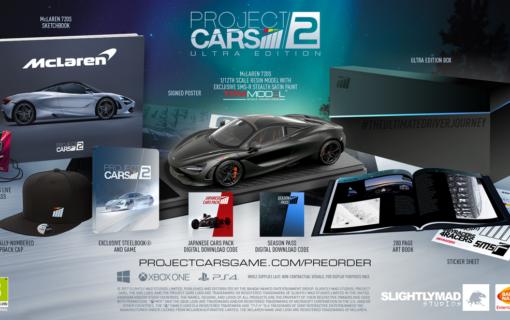 Edycje kolekcjonerskie Project CARS 2