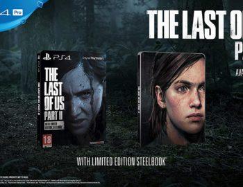 The Last of Us Part II z drugą wersją Steelbooka