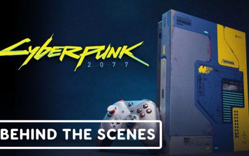 Microsoft przedstawia kulisy projektowania limitowanej konsoli Xbox One X Cyberpunk 2077