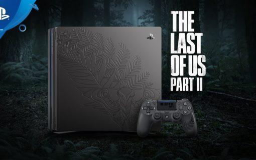 The Last of Us Part II z limitowaną konsolą Playstation 4 Pro, dyskiem twardym i headsetem