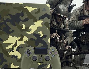 Playstation 4 w limitowanej edycji Call Of Duty: WWII