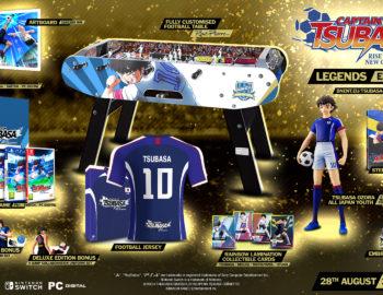 Trzy kolekcjonerskie edycje Captain Tsubasa: Rise of New Champions