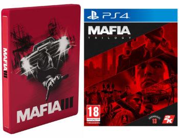 Mafia Edycja Ostateczna i Mafia Trylogia z bonusowym Steelbookiem w Muve