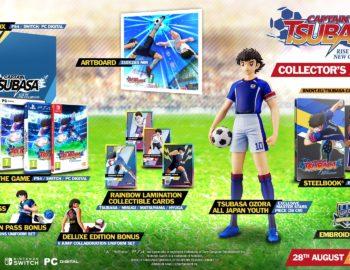 Edycja Kolekcjonerska Captain Tsubasa Rise of New Champions w przedsprzedaży w Polsce