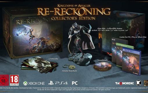 Kingdoms of Amalur Re-Reckoning z kolekcjonerską edycją
