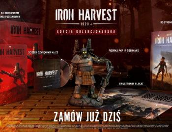 Także Iron Harvest otrzyma kolekcjonerkę. Wystartowała przedsprzedaż w Polsce.