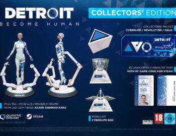 Edycja Kolekcjonerska Detroit Become Human dostępna w polskich sklepach
