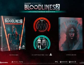 Vampire: The Masquerade – Bloodlines 2 w wydaniu ze Steelbookiem