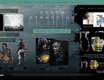Death Stranding PC Day 1 Steelbook Edition dostępne na Amazonie