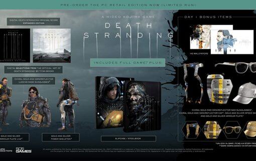 Death Stranding PC Day 1 Steelbook Edition dostępne na Amazonie