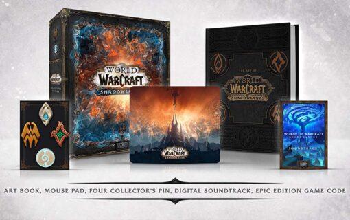 World of Warcraft: Shadowlands z kolekcjonerską edycją