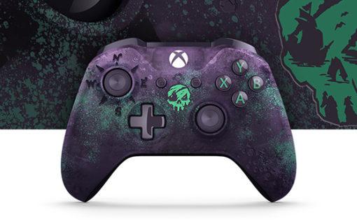 Kontroler Xbox One w limitowanej edycji Sea of Thieves