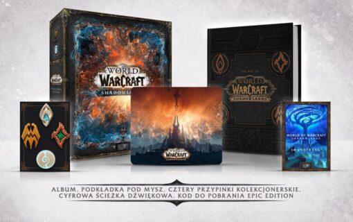 Pierwsze polskie sklepy uruchomiły przedsprzedaż kolekcjonerki World of Warcraft Shadowlands