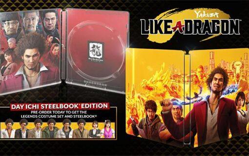 Poznaliśmy wygląd Steelbooka z Yakuza: Like a Dragon