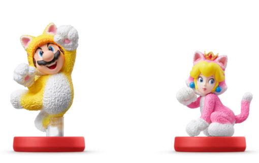 Wraz z Super Mario 3D World + Bowser's Fury zadebiutują nowe figurki amiibo
