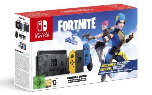 Konsola Nintendo Switch Fortnite Special Edition dostępna na Amazonie
