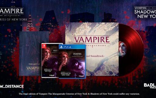 BadLand Publishing zapowiada kolekcjonerkę Vampire: The Masquerade – Shadows of New York