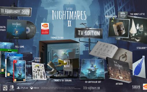 Little Nightmares II z kolekcjonerskim wydaniem TV Edition