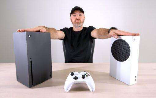 Prototypy konsol Xbox Series X | S na unboxingu