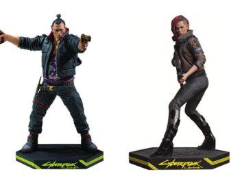 Dark Horse zapowiada nowe figurki z Cyberpunk 2077. Jackie Welles i Female V dostępne w przedsprzedaży