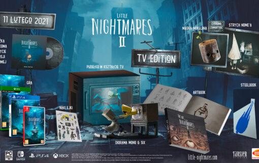 Kolekcjonerka Little Nightmares II TV Edition dostępna w Polsce