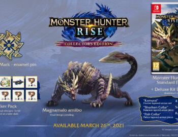 Monster Hunter Rise z kolekcjonerką i nowymi amiibo