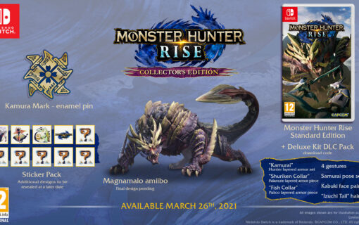 Edycja Kolekcjonerska Monster Hunter Rise dostępna w Polsce