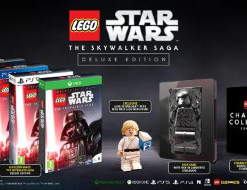 Steelbook w specjalnym wydaniu LEGO Gwiezdne Wojny: Saga Skywalkerów