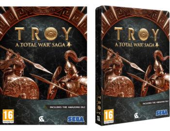 Limitowane fizyczne wydanie Total War Saga: Troy