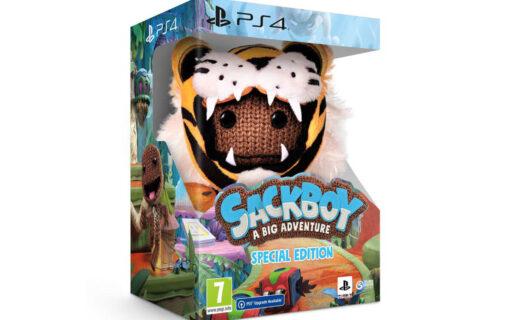 Specjalna edycja Sackboy: A Big Adventure na Playstation 4
