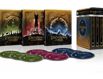 Steelbooki z trylogiami Władcy Pierścieni i Hobbita w 4K – wkrótce ruszy przedsprzedaż