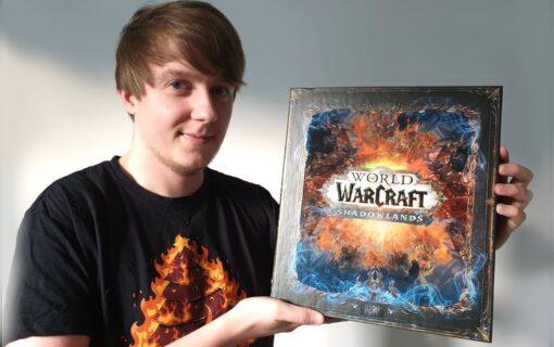 Edycja Kolekcjonerska World of Warcraft Shadowlands na unboxingu