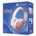 Headset Sony Playstation Rose Gold za około 275 zł z wysyłką na Amazonie