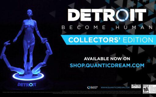 Kolekcjonerska edycja Detroit: Become Human na unboxingu od Quantic Dream