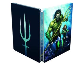 Steelbook z filmem Aquaman w 4K – ruszyła przedsprzedaż