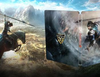 Steelbook jako dodatek do Dynasty Warriors 9