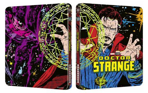 Można już zamawiać Steelbook Mondo z filmem Doktor Strange w 4K