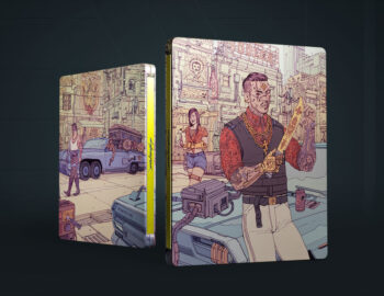 Steelbook Valentinos z Cyberpunk 2077 dostępny samodzielnie w Media Expert