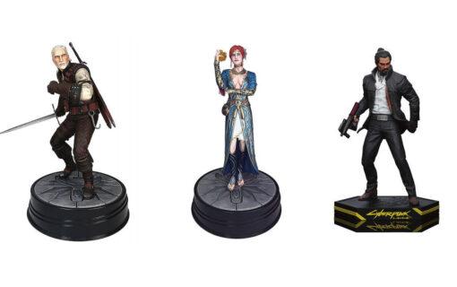 Wiedźmin i Cyberpunk 2077 z kolejnymi figurkami od Dark Horse