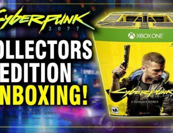 Unboxing Edycji Kolekcjonerskiej Cyberpunk 2077